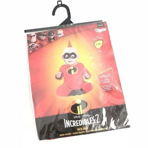 NEW The Incredibles 2 Jack Jack Costume 6-12 Mos